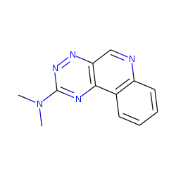As-triazino[6,5-c]quinoline, 2-dimethylamino-