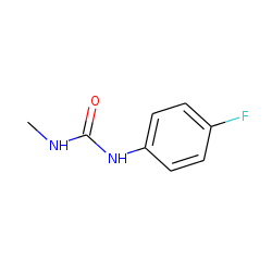 Urea, 1-(p-fluorophenyl)-3-methyl-