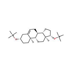 Androstenediol (Androst-5-en-3B,17B-diol), TMS