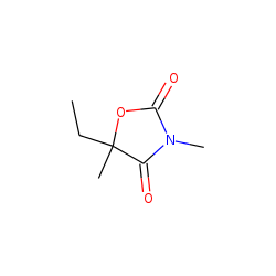3,5-Dimethyl-5-ethyl oxazolidine-2,4-dione