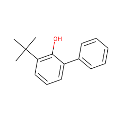 [1,1'-Biphenyl]-2-ol, 3-(1,1-dimethylethyl)-