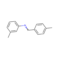 (p-methylbenzylidene)-(3-methylphenyl)-amine