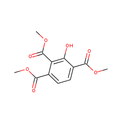 Benzene-1,2,4-tricarboxylic acid, 3-hydroxy, trimethyl ester