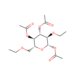 Glucose, 2,6-diethyl, acetylated