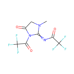 Creatinine, N,N'-di(trifluoroacetyl)-