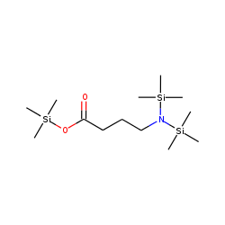 Butanoic acid, 4-[bis(trimethylsilyl)amino]-, trimethylsilyl ester