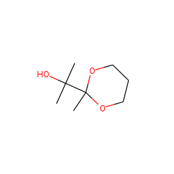 2-(1-Hydroxy-1-methylethyl-2-methyl-1,3-dioxane