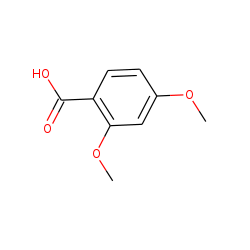 Benzoic acid, 2,4-dimethoxy-
