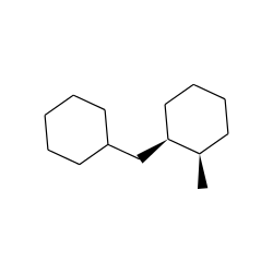 Cyclohexane, 1-(cyclohexylmethyl)-2-methyl-, cis-