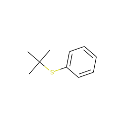 Benzene, [(1,1-dimethylethyl)thio]-
