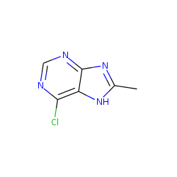Purine, 6-chloro-8-methyl-