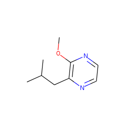 Pyrazine, 2-methoxy-3-(2-methylpropyl)-