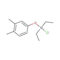 Silane, chlorodiethyl(3,4-dimethylphenoxy)-