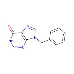 9H-purine-6(1h)-one, 9-benzyl-