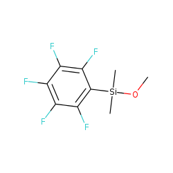 Silane, methoxydimethyl(pentafluorophenyl)-