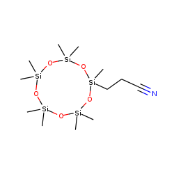 2,2,4,4,6,6,8,8,10-nonamethyl-10-(2-cyanoethyl)-[1,3,5,7,9,2,4,6,8,10]cyclopentasiloxane