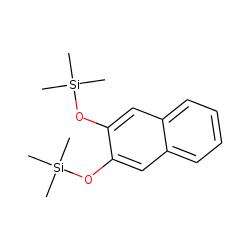 2,3-Dihydroxynaphthalene, bis(trimethylsilyl) ether