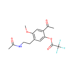 4-ethyl-2,5-dimethoxy-«beta»-phenethylamine-M, (O-desmethyl-oxo-N-acetyl-), TFA