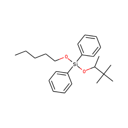 Silane, diphenyl(3,3-dimethylbut-2-yloxy)pentyloxy-