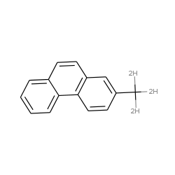 Phenanthrene, 2-methyl-d3-