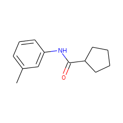 Cyclopentanecarboxamide, n-(3-methylphenyl)-