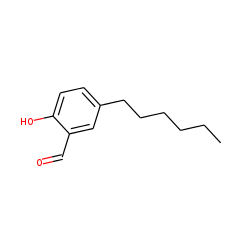 Benzaldehyde, 2-hydroxy, 5-hexyl