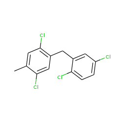 2,2',5,5'-tetrachloro-4-methyl-diphenylmethane