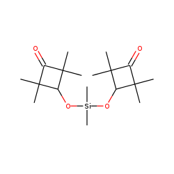 Cyclobutanone, 3,3'-(dimethylsilyldioxy) bis-2,2,4,4-tetramethyl