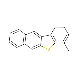 Benzo[b]naphtho[2,3-d]thiophene, 4-methyl