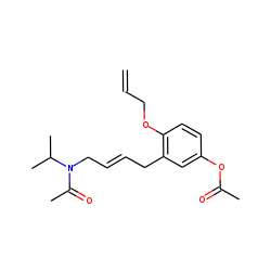 Oxprenolol hydroxy - H2O, isomer II, acetylated