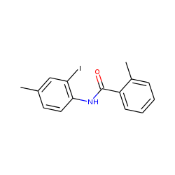 Benzamide, n-(2-iodo-4-methylphenyl)-2-methyl-