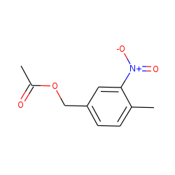 Acetic acid, (4-methyl-3-nitrophenyl)methyl ester