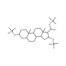 3,16,20-Tris[(trimethylsilyl)oxy]-5.alpha-pregnane, (3«beta»,16«alpha»,20«alpha»)-