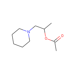 1-Piperidin-1-ylpropan-2-yl acetate