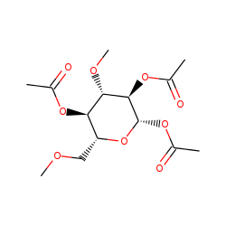 Glucose, 3,6-dimethyl, acetylated