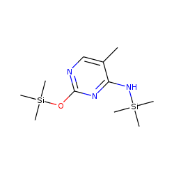 4-Pyrimidinamine, 5-methyl-N-(trimethylsilyl)-2-[(trimethylsilyl)oxy]-
