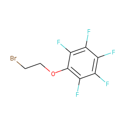 Phenetole: beta-bromo-2,3,4,5,6-pentafluoro-