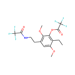 4-ethyl-2,5-dimethoxy-.beta.-phenethylamine-M, (HO-), 2TFA