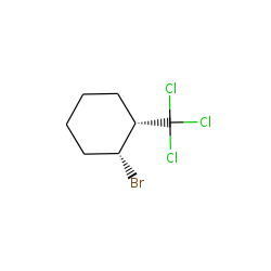 Cyclohexane, 1-bromo-2-(trichloromethyl), cis