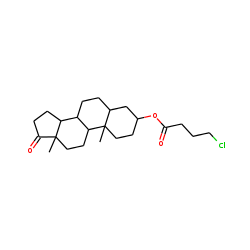 Trans-androsterone, 4-chlorobutyrate