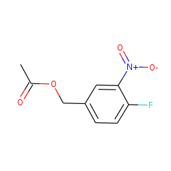 Acetic acid, (4-fluoro-3-nitrophenyl)methyl ester