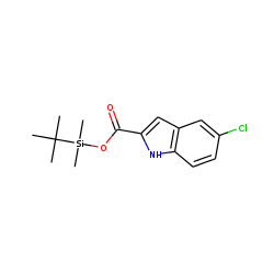 5-Chloro-1H-indole-2-carboxylic acid, tert-butyldimethylsilyl ester