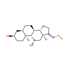 5.beta.-Androstan-3.alpha.,11.beta.-diol-17-one (Androsterone), MO