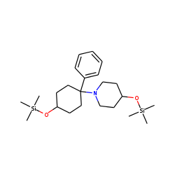 1-(1-phenyl-4-hydroxycyclohexyl)-4-hydroxypiperidine (TMS)