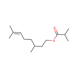 Citronellyl isobutyrate