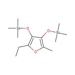 [(2-Ethyl-5-methylfuran-3,4-diyl)bis(oxy)]bis(trimethylsilane)