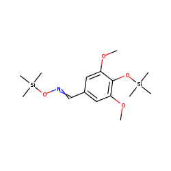 Benzaldehyde, 4-hydroxy-3,5-dimethoxy, oxime, bis-TMS