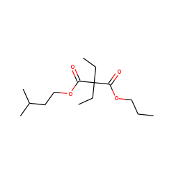 Diethylmalonic acid, 3-methylbutyl propyl ester