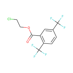 2,5-Di(trifluoromethyl)benzoic acid, 2-chloroethyl ester