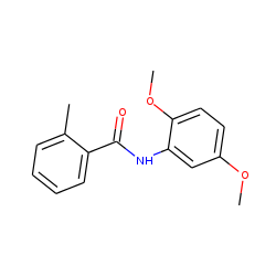 Benzamide, n-(2,5-dimethoxyphenyl)-2-methyl-